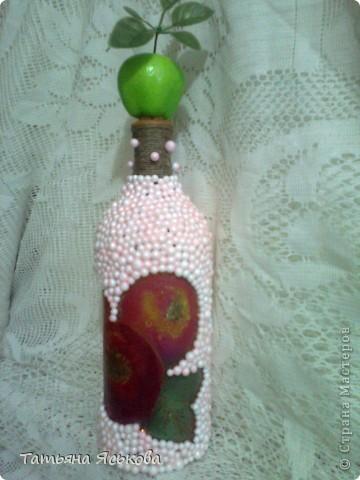 Предлагаю вашему вниманию бутылочку-яблочко.  фото 2