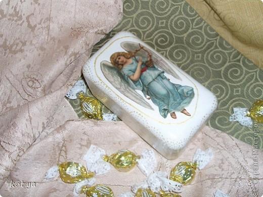 Конфетки съела, а коробочку приукрасила(я надеюсь...) фото 4