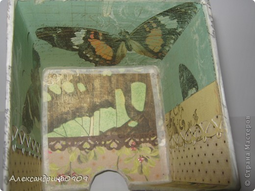 Вот такая коробочка под блок для записи. фото 5