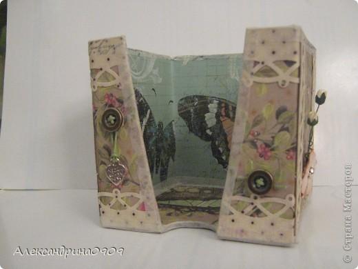 Вот такая коробочка под блок для записи. фото 6