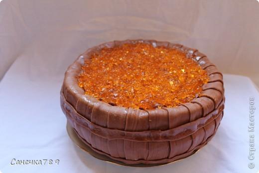 Вот такой тортик испекла себе на радость, гостям на удивление. фото 1
