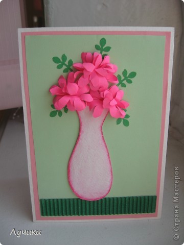 Цветы в корзинке своими руками для мамы