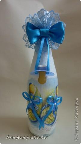 Бутылочка на крестины! фото 1