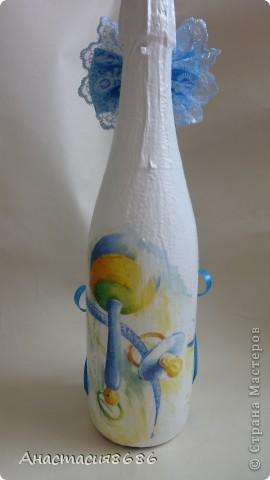 Бутылочка на крестины! фото 2