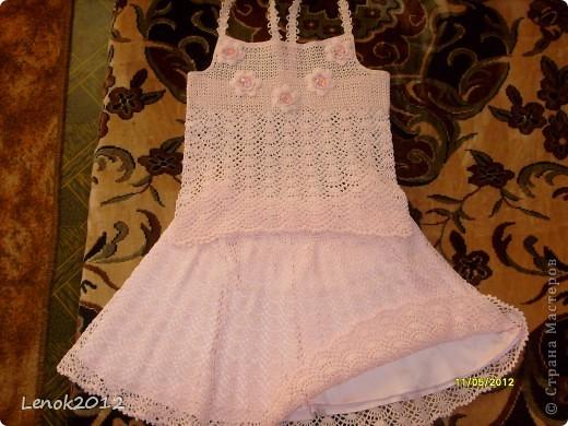 Топ и юбка для доченьки. фото 1