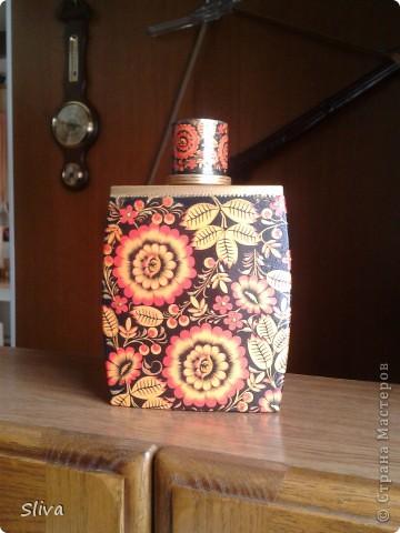 Лейка из ИКЕИ. Акриловые краски, рисовая бумага, однокомпонентный кракле, финишный лак. фото 5