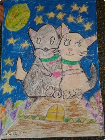 Влюбленные коты! фото 1