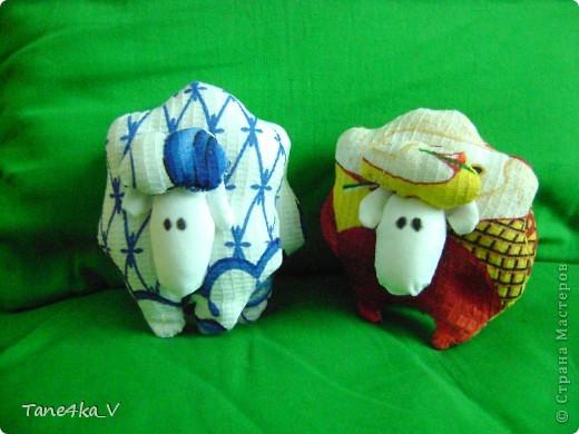 Вот такие чудные барашки получились:) фото 2
