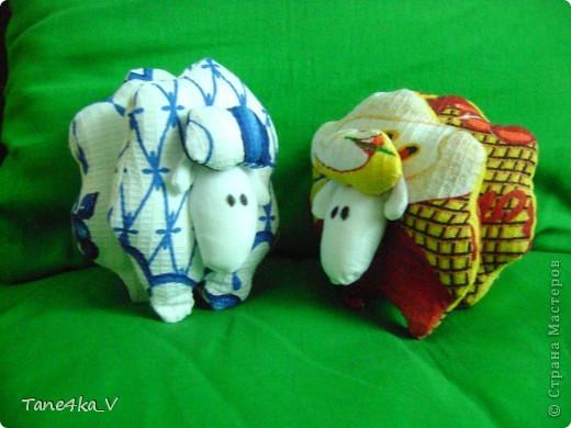 Вот такие чудные барашки получились:) фото 1