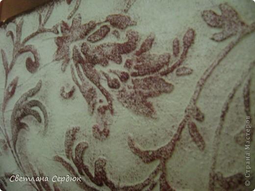 Шкатулка сделана на заказ. Декупаж, по всем поверхностям шкатулки двухшаговый кракелюр. Старение морилкой, старение битумом. Многократное покрытие лаком. фото 23