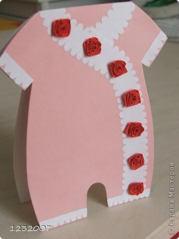 У знакомых родилась дочка, и я стала искать вариант открытки для новорожденного. Нашла много интересных  идей у  tanjuscha  http://stranamasterov.ru/node/111134?c=favorite фото 2