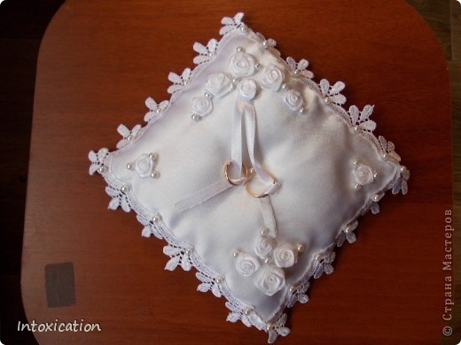 Свадебные подушки фото 2