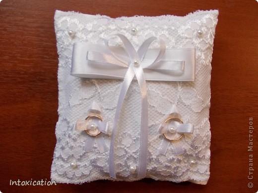 Свадебные подушки фото 3