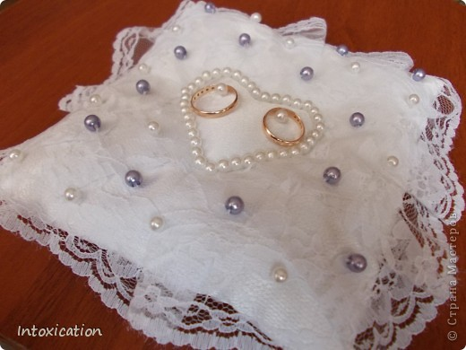 Свадебные подушки фото 4