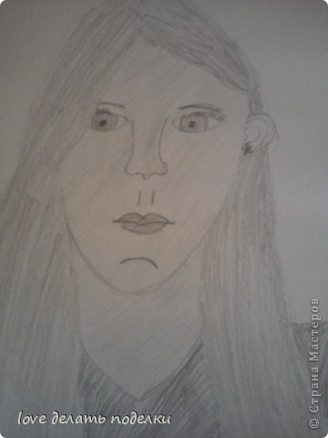 Здравствуйте, кто зашёл в мой первый блог=) Вот такой тюльпанчик нарисовала Я! Просто стоял на комоде, а я же не усидчивая вот и срисовала=) Потом ещё яблочко подложила рядом, подрисовала, и в итоге получился: натюрморт! фото 2