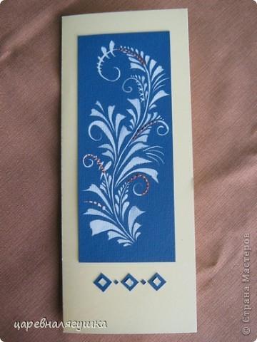 Делала открытки к Пасхе в росписи и вытинанке фото 3