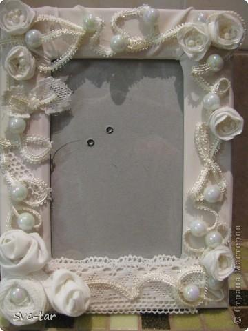 Свадебная рамка фото 1