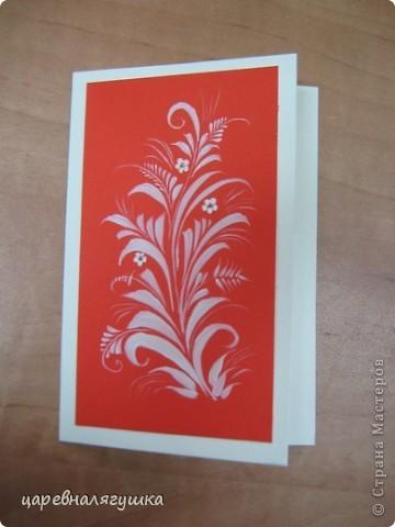 Делала открытки к Пасхе в росписи и вытинанке фото 5