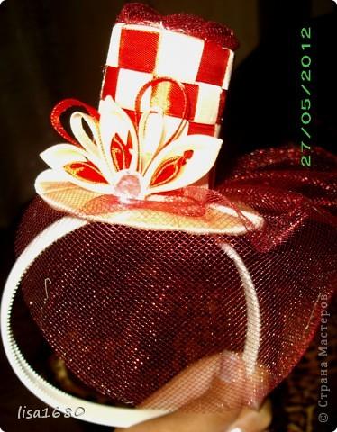 Шляпка ободок мастер класс