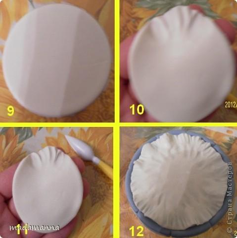 Декор предметов Мастер-класс Поделка изделие Лепка Спящий малыш+МК Банки стеклянные Фарфор холодный фото 5