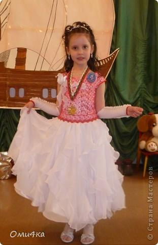 Платье на выпускной в детскй сад фото 1