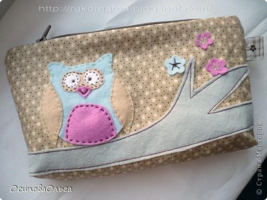 Мне очень нравится  замечательный блог Елены Гришиной. Она шьет потрясающие сумки ( и не только), там же есть и мастер-классы. Вот хороший мастер класс по пошиву косметички: http://dushechki.blogspot.com/2012/02/blog-post_2481.html#more  По нему я и сшила вот такую: фото 1