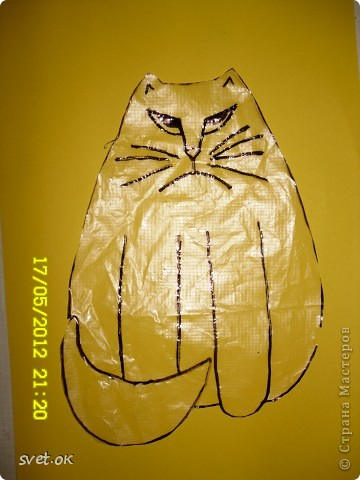 Добрый день, дорогие мастерицы! как говорится, кому что - а мне котов побольше для счастья. сотворился у меня вот такой зверюка. фото 2