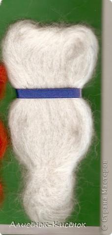 Родилась у меня вот такая открыточка.Кот и Кошка сваляны в технике сухого валяния. Кот и Кошечка сидят рядышком и мурлычут вместе....Романтика... фото 4
