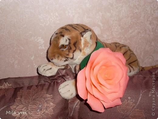 """Подруга попросила сделать розу, но не простую, а """"ну ооочень большую!"""")) фото 1"""