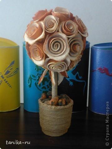 Розочки из апельсиновой кожуры делала по подсказке с этой странички http://stranamasterov.ru/node/95371. СПАСИБО ЗА ИДЕЙКУ!!! Кстати, розы заготавливала зимой, а они до сих пор пахнут )))) фото 1