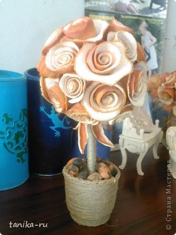 Розочки из апельсиновой кожуры делала по подсказке с этой странички http://stranamasterov.ru/node/95371. СПАСИБО ЗА ИДЕЙКУ!!! Кстати, розы заготавливала зимой, а они до сих пор пахнут )))) фото 3