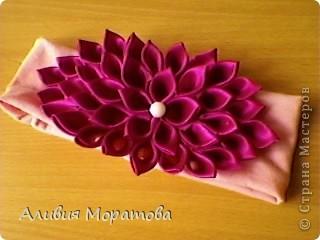 Цумами -Канзаши фото 12