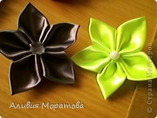 Цумами -Канзаши фото 6