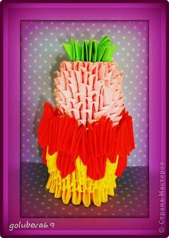 Вазочка с ягодкой. фото 4