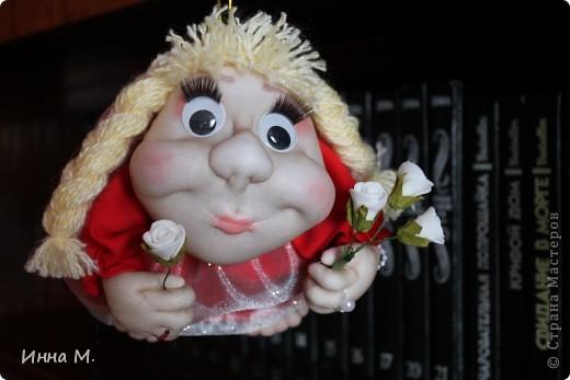 моя вторая куколка на удачу. фото 4