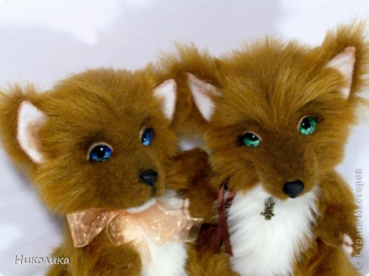 Лисичка Рашель с братиком Рудиком.....  фото 1