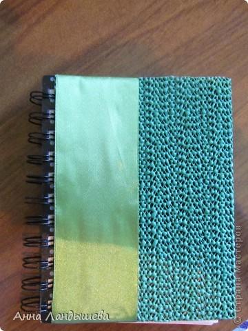 Первый мой блокнотик! Делала для себя!)) фото 3