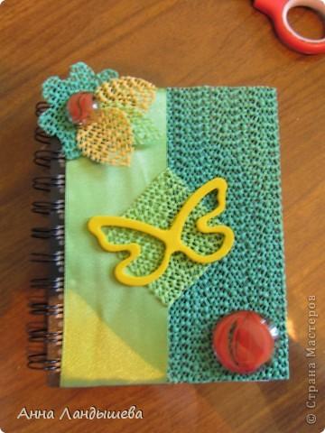 Первый мой блокнотик! Делала для себя!)) фото 5