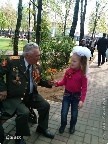 Гвоздики Ветеранам на 9 мая! Дочь так старалась!!)) фото 2