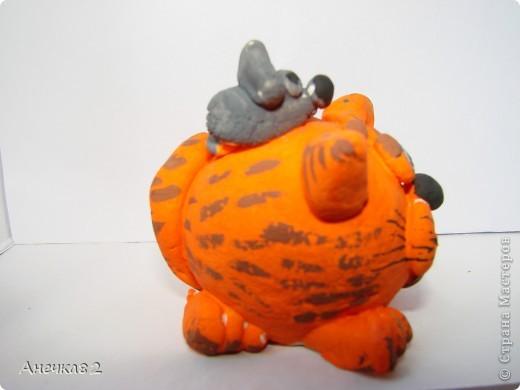 Котяшка с мышом. фото 3