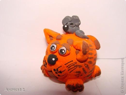 Котяшка с мышом. фото 2