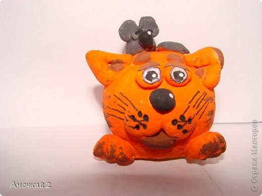 Котяшка с мышом. фото 1