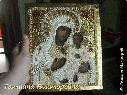 Казанская икона Божией Матери. Первый мой опыт. фото 3