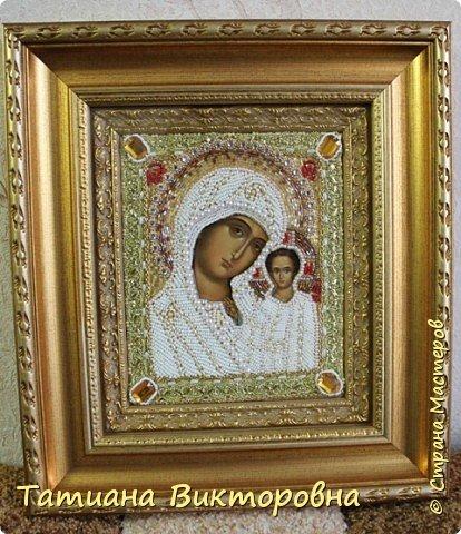 Казанская икона Божией Матери. Первый мой опыт. фото 1