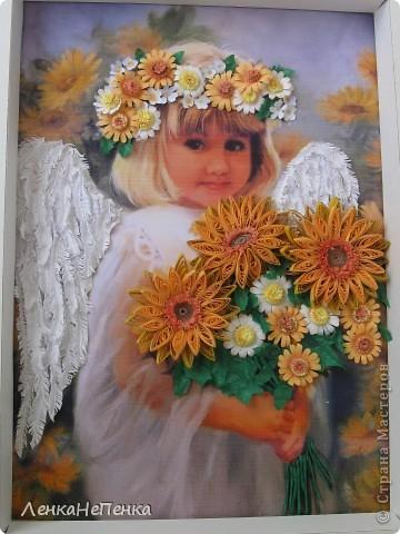 Ангелочек еще не за стеклом. фото 1