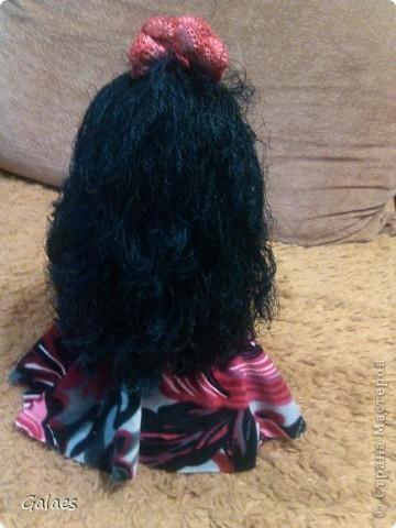 Пыталась сделать кукл дочке. получилась цыганка! (Воспитателю на выпускной.) фото 2
