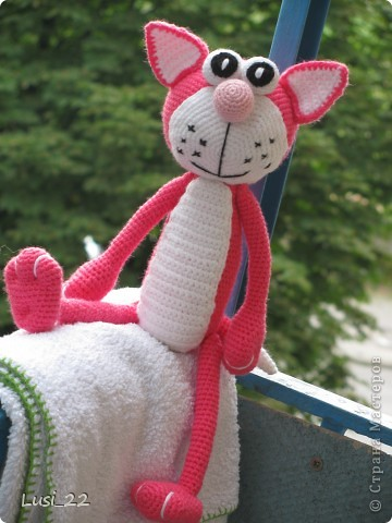 Кот розовый | Страна Мастеров.