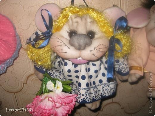 Всем доброго времени суток!!! Вот такой  заказик мышек-попиков у меня получился))) фото 8