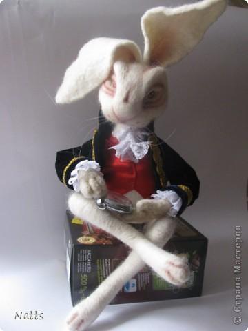 Белый кролик из Алисы дубль 2. фото 1