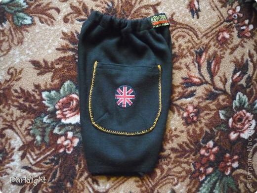 Шортики в садик из теплой трикотажной ткани. фото 2